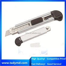 18mm blade 5 knife blade Aluminium alloy handle Muti Utility knife/Pocket knife/hand tools in high quality
