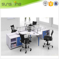 office partition designs staff work station layout modern style Guangzhou supplier