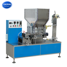 High speed single drinking straw packing machine with paper and plastic film 400 - 700pcs / min