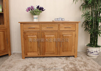 ThineThing solid oak cabinet with 3 door 3 drawer