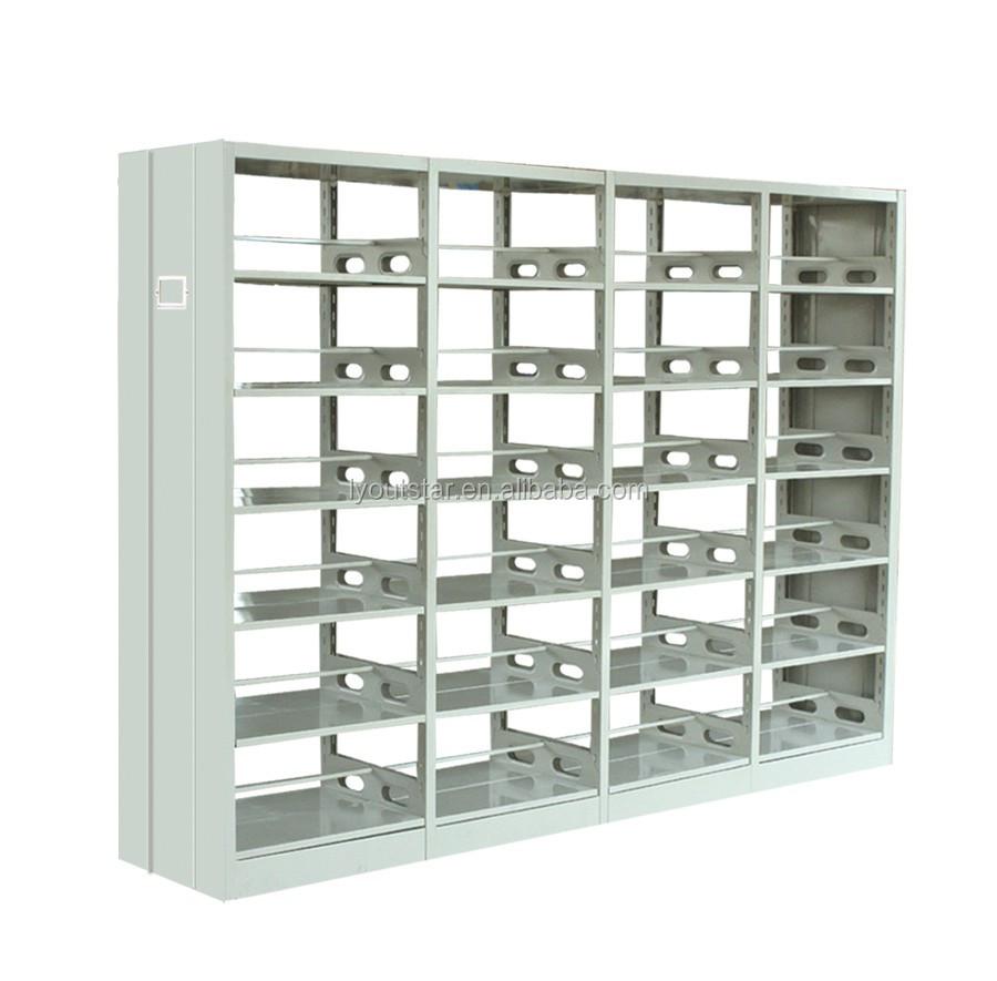 derribar biblioteca estantera estanteras de aluminio de