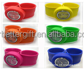 Cheapest Wholesale Kids Silicone Slap Watches
