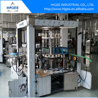 Automatic factory price roll feed PET bottle OPP Hot melting glue bottle labeling machine