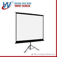 Tripod Stand Manual Projector Screen