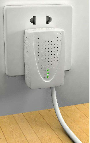 Homeplug AV adapter PLC 200Mbps plug-and-play