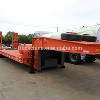 Heavy Duty Lowbed Low Bed Semi
