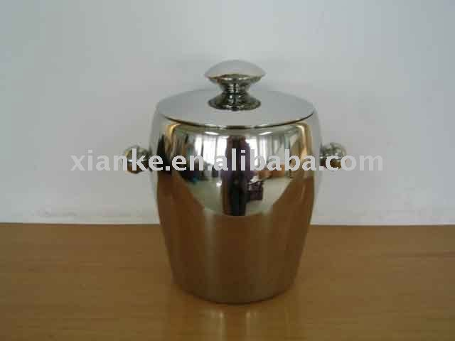 2L Single Wall Metal personalized ice bucket
