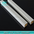 High acid & alkali resistant 99% square mouth alumina ceramic tubes