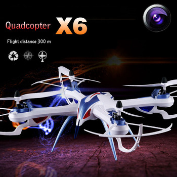 Newest Arrival Tarantula X6 2.4G 4CH Quadrocopter with HD Camera