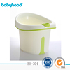 Hot-selling plastic baby bathtub with seat