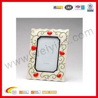 Colored Photo Frame Porcelain Picture Frame Strawberry Designed Photo Frame For Promotion Gift 2013