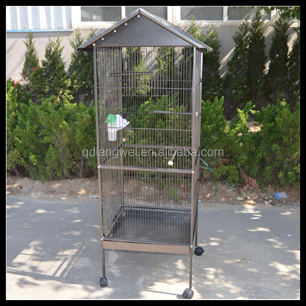 Durable hot sale powder coated cheap breeding bird cage