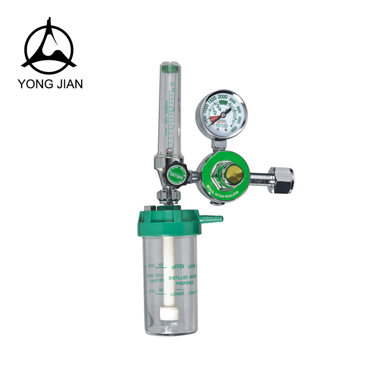 Made in China superior quality medical oxygen pressure regulator with flowmeter
