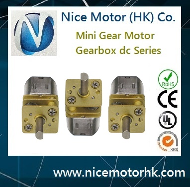 N20 mini gearhead motor for door locks