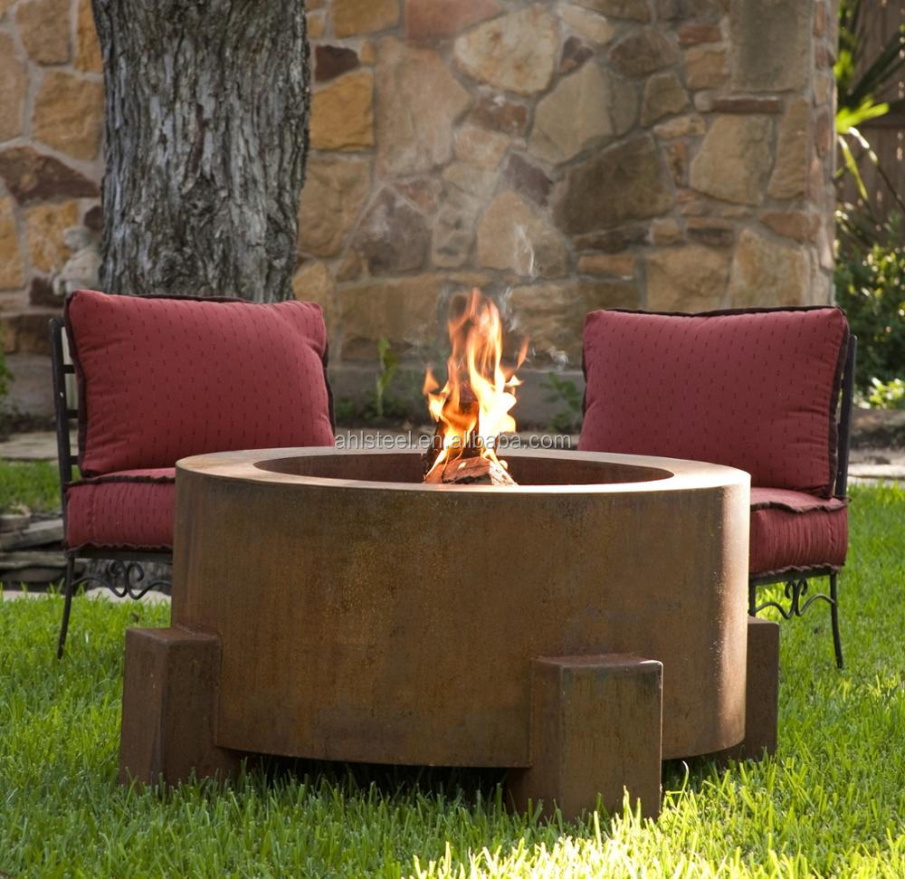 High quality metal fireplace accessories/corten steel fireplace outdoor