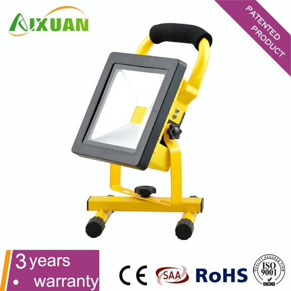 10w super thin rechargeable led flood light patented product