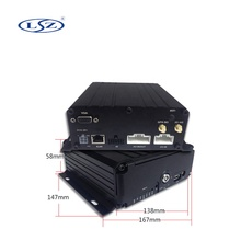 H.264 2.0MP AHD 8CH mobile <strong>dvr</strong> built in GPS 4G 3G