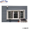 Swing opening pvc profile pvc windows double glass casement window