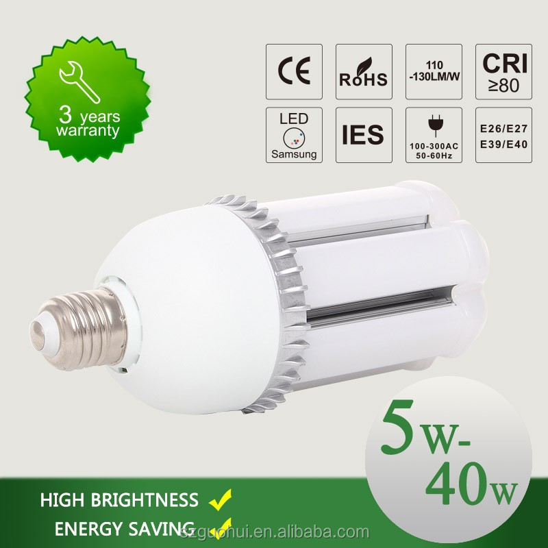 54W E40 yard led lights 250W led replacement for high pressure sodium lights