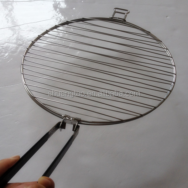 Professional customized round stainless steel galvanized barbecue grill wire mesh