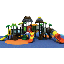 kids outdoor castle theme playground items large playground slide