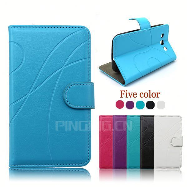 factory price wallet leather flip case cover for samsung galaxy note3 neo