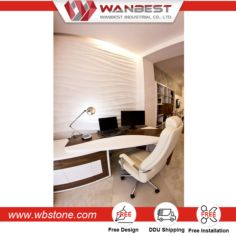 Wholesale Office Furniture Corner Curved Staff Table Home Writing Desk