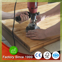 Carbonized Vertical Bamboo Countertops 1-1/2