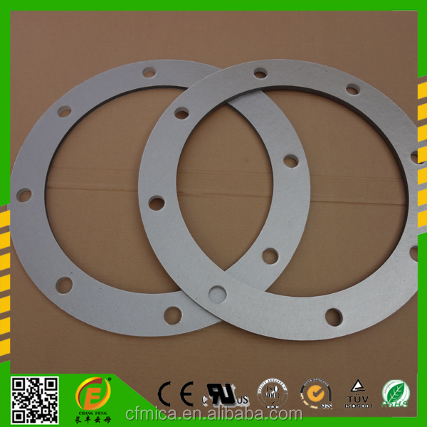 Factory Outlet Flange Cushion Heat-resisting Punched Mica Parts For Insulator