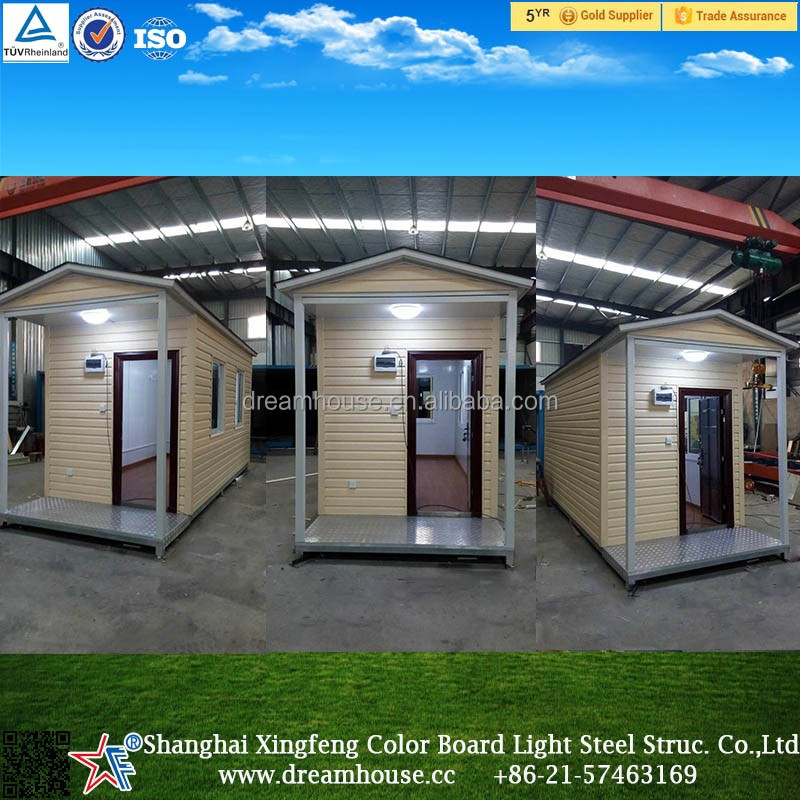 light steel frame sandwich panel prefabricated house/prefab kit homes with steel base