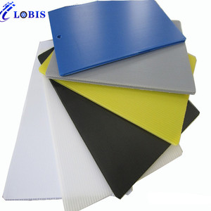 4x8 colored and transparent recycled coroplast pp hollow corrugated plastic sheet
