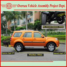 5-7 seats jeep 4x4 utility vehicle with diesel engine (CKD/SKD available for local assembling)
