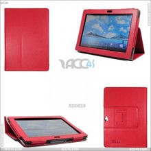 PU Leather Tablet Case with Folio Stand for ASUS Padfone 7 P-ASUSPADFONE7CASE001