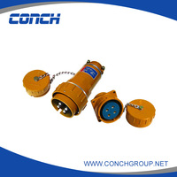 Waterproof and dustproof Industrial Socket 100A electric plug&socket Industrial plug and socket
