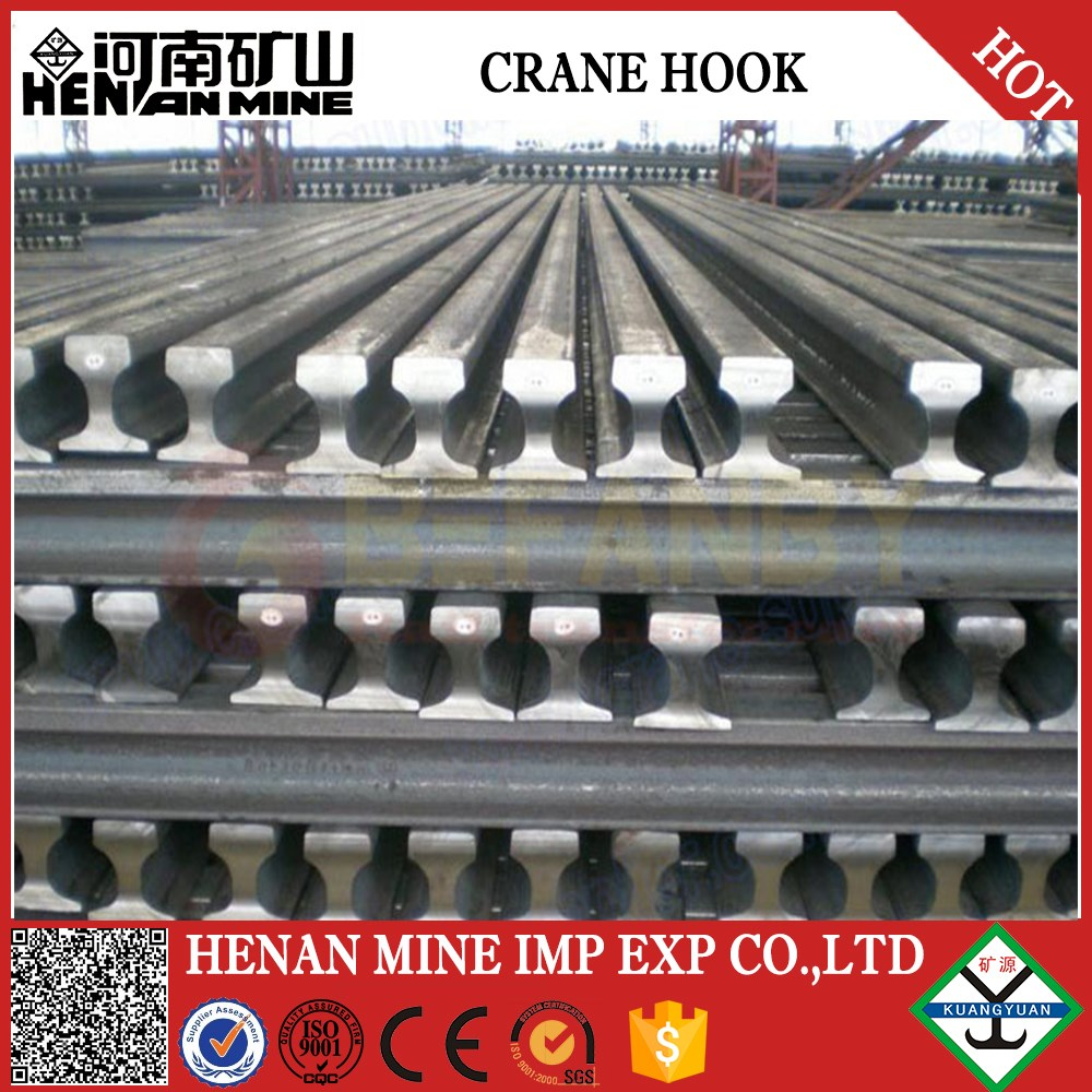 China GB30KG steel rail, GB15KG steel rail used for traveling