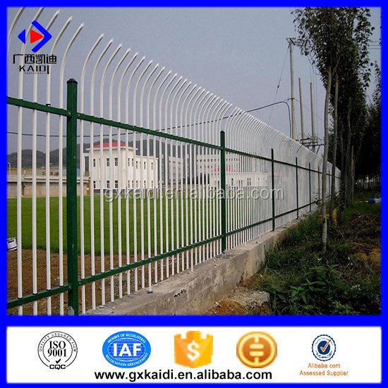 2016 China Best Palisade Fencing (more than 5 years' factory)