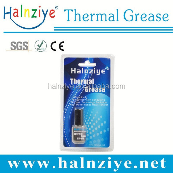 Halnziye CPU cooling Thermal conducive Grease/compound /Paste with OEM retail package