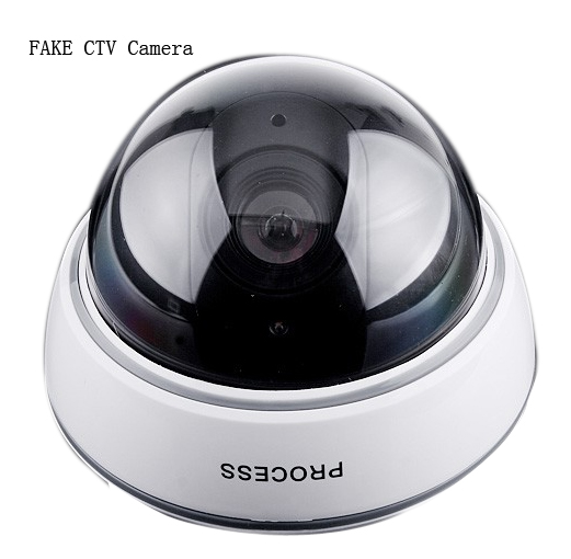 Wireless Outdoor Fake Camera Dummy Security LED Surveillance CCTV Dome Camera For Home Security Wholesales Drop Shipping