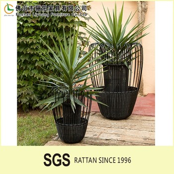 High quality and best price hot selling indoor decorative pots outdoor plastic garden flower pot