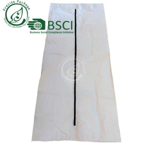 China high quality OEM PEVA medical biodegradable zipper body bags
