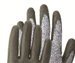 13G HPPE nitrile coated cut resistant gloves safety gloves