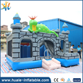 Inflatable boys castle inflatable dinosaur bouncer house air jumping castle for party