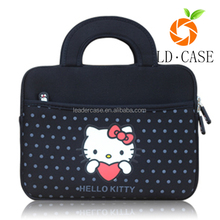 lovely hello kitty printed antifriction cut style laptop sleeve bags