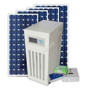 Mars Solar energy 15kw home solar power system Lightning protection off grid system