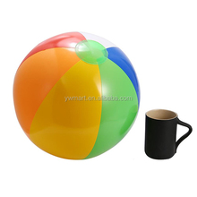 Wholesale price customize logo inflatable emoji beach ball