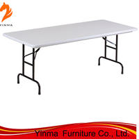 YINMA Hot Sale factory price Plastic Folding Table
