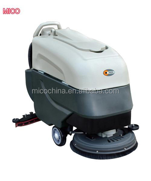 Hand push type small electric floor sweeper