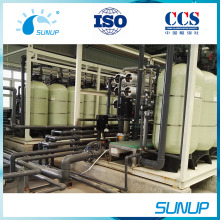 300tpd skid mounted seawater desalination system for portable water supply