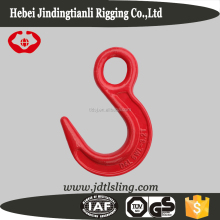 High Quality crane hook eye hook red painting