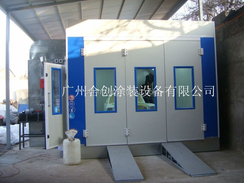 Factory Direct Sale Spray Booth HC610S European Design Spray Painting and Baking Booth for Sale with CE